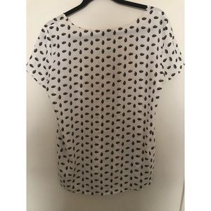 Ann Taylor Pineapple Blouse